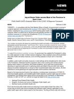 Extension of Provincewide Shutdown_NR