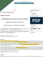 IMPRIMIR ATLANTIDA COLL La globalización y el sector servicios en México