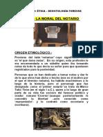 LA MORAL DEL NOTARIO (1)