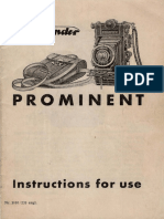 Prominent Manual
