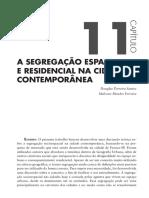 A Segregação Espacial e Residencial Na Cidade Contemporânea (Cap 11)