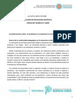 SSE - ED ARTISTICA - Circular Técnica 2-2020