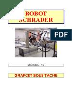 Robot Schrader Exercice n 2 Grafcet Sous Tache