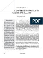 Historians and the Lost World of Kansas Radicalism by William C. Pratt