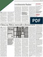 CHINA E AFRICA - MERCADO E DEMOCRACIA