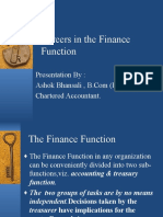 Careers in Finanial Management