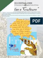 Rubrica digitale di Fradae e Culture N3