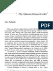 The Unknown Donoso Cortes - Carl Schmitt