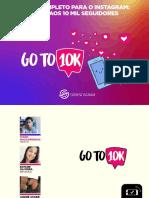 eBook GoTo10k - Do 0 Aos 10 Mil Seguidores No Instagram