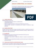 Diseño Hidráulico y Estructural de Canales