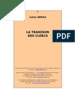 La trahison des clercs - Benda