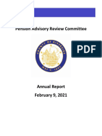 2021 Riverside County Pension Advisory Review Committee Report