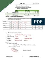 TP 02 Informatique 1