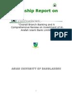 al-arafah BANK Internship Report