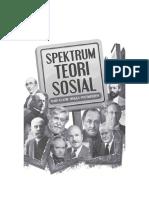 Spektrum Teori Sosial Dari Klasik Hingga Postmodern
