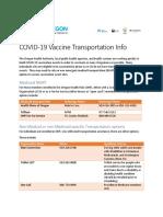 COVID Vaccine Event - NEMT Ride Service Info 2.8.21
