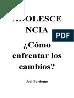 LA ADOLESCENCIA - POR JOEL PERDOMO