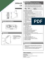 Manuale VE758400 Energy-230 Micro LCD