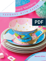 Personalised Wedding Favours with Paper FREE eBook