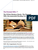 99 best business books
