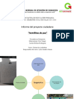 Informe de Proyecto Semillitas de Paz