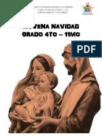 NOVENA PARA 4TO - 11MO