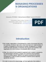 Seminar 6bis Tool for Managing Processes Within Organizations