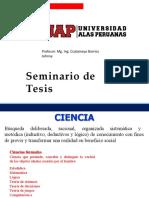 SEMINARIO DE TESIS II CLASE 5 y 6