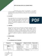 PROCEDIMIENTO DE LABORATORIOS