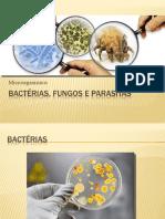 2 .Bacterias, Fungos e Parasitas