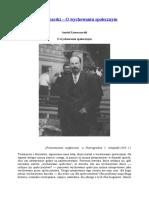 A. Łunaczarski – O Wychowaniu Społecznym