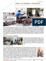 Thailand March 2011 Newsletter