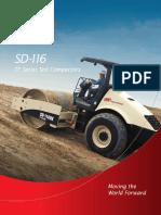 SD116F Compactor Brosure