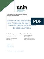 Diseño de una metodología para la educación artística