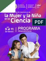 La Mujer y la Niña en la Ciencia Guanajuato 2021