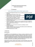 GUIA DE APRENDIZAJE Nº 6  TRIMESTRE 1  TECNICOS  19 AL 29 OCTUBRE 2020