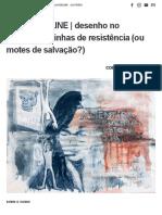 CURSO ONLINE _ desenho no apocalipse_ linhas de resistência (ou motes de salvação_) — lux