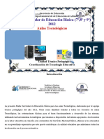 Malla Curricular III Nivel Educacion Basica de Atlantidaii
