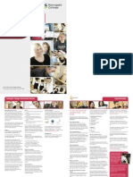 Harrogate College Commercial Division Brochure 2011