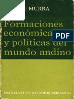 John Murra - Formaciones Economicas y Politicas Del Mundo Andino - 1975