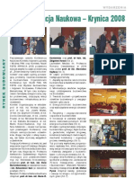 2008 10 PrzeglBud 06_Konferencja Naukowa Krynica 2008