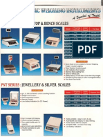 Weighing Machines Catalog