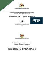 Matematik - Tingkatan 5