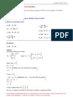 Flemning - Exercicios resolvidos - equações modulares