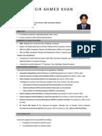 Nasir's CV