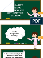 Cls in Mathematics Teaching