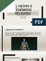fenomeno religioso