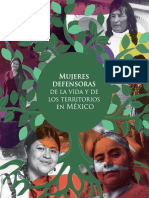 Folleto Mujeres Defensoras