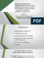 plt DIRURA KEBIAJAKAN PEMERINTAH PEMBANGUNAN KERUKUNAN Surabaya 2018