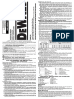 dewalt dmw120 doc